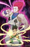 HunterXHunter- Hisoka and Gon Freecs by TheDreamVirus