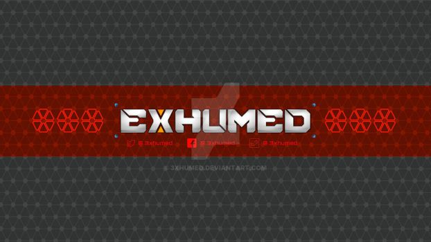 YouTube channel background by 3xhumed