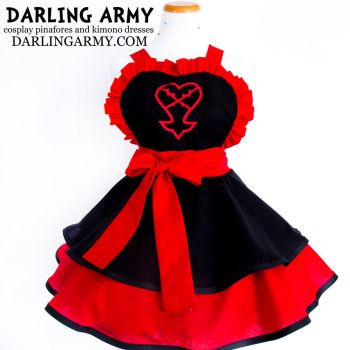 Heartless Kingdom Hearts Cosplay Apron by DarlingArmy