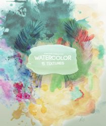 Watercolor // TEXTURES by FranceEditions