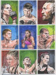2018 UFC Canvas Collection - 02 by tdastick