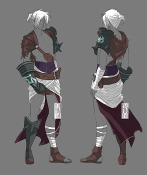 -:- COM : Reverse Riven's outfit -:- by Elairin