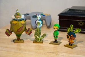 Majora's Mask Statues by Sketchy-Stories