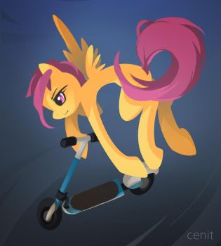 I can fly My way by Cenit-v