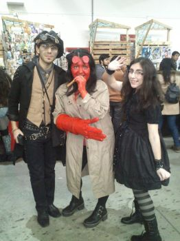 Valta, Hellgirl and Pansito by AlexeiRobles