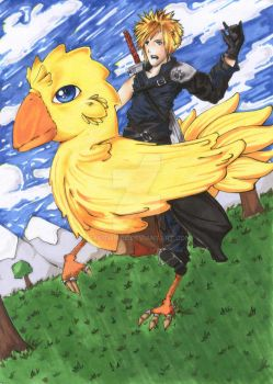 Chocobo Rodeo by SkeithNire