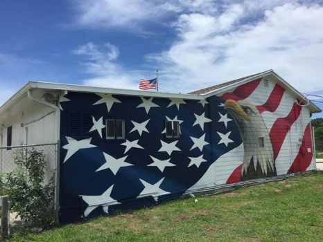 AmVets Post 14 Mural - 2017 by AmazingStreetPaint