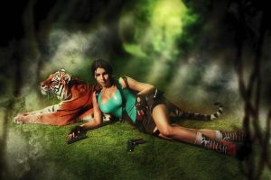 Lara Croft - Tomb Raider cosplay by elenasamko