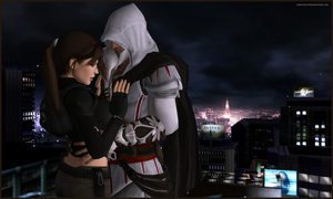Midnight Lust - Lara and Ezio by andersoncathy