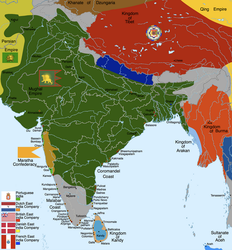 India: 1707 by Hillfighter