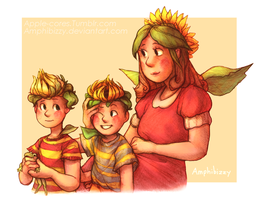 Sonflowers [Mother 3] by Amphibizzy