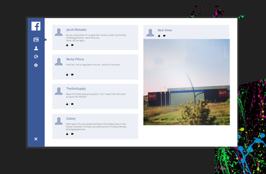 Facebook for Galaxy by thegbdc