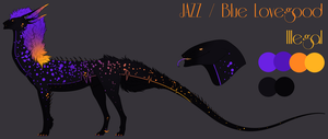 Feral Ref: JAZZ / Blue Lovegood by Reality-Rebel
