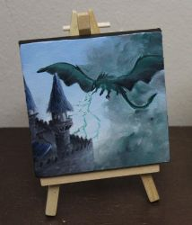 Mini Dragon by crazycolleeny