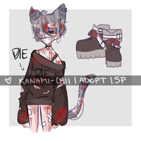 |OPEN||SET PRICE| Halloween Adopt #1 by Kanami-Chii