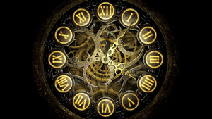Mechanical Clock HD FULL SCREEN for xwidget by Jimking