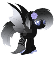 Astral Bat Pony Adoptable *closed* by MagicDarkArt