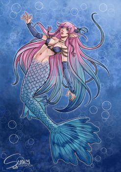 Mermaid by Syney