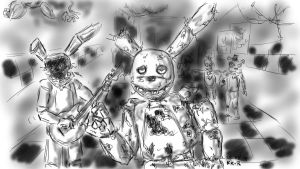 FNAF- Springtrap- Highway To Hell by miawell1990