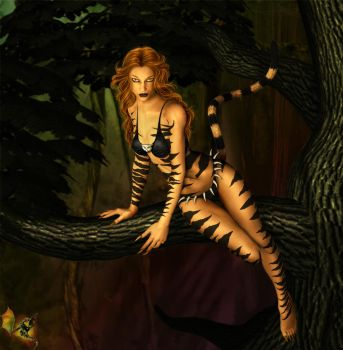 Tigra by JuneMaillet