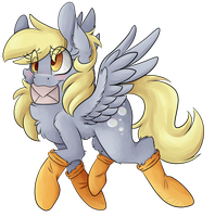 Derpy has Mail by CutePencilCase
