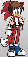Sonic OC: Andy the Fox by lightyearpig