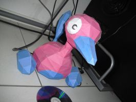 Porygon2 papercraft