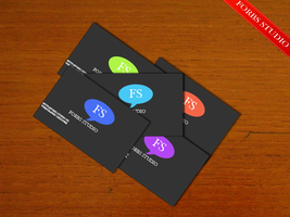 Minimalistic business cards. by Forbs1994
