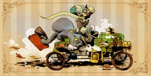 sunday drive with otto by BrianKesinger