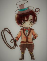 APH x KIDDYLAND: Ringmaster Romano by tophgirl96