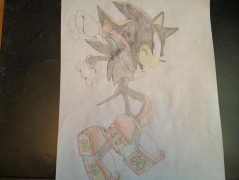 Shadow The Hedgehog by xXTheUltimate39