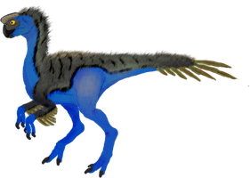 Female Oviraptor by Andrew-Graphics