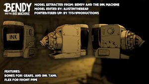 Bendy and The Ink Machine - Ink Machine Showcase by TF541Productions