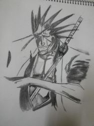 Zaraki Kenpachi by ZeCountess