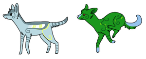 doggies adoptable by Pimsri