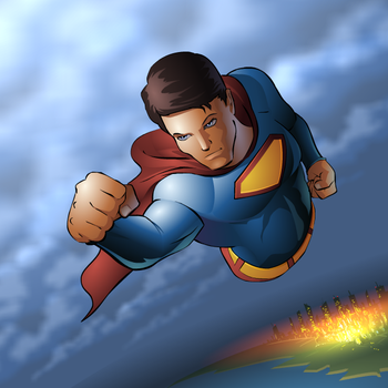 superman by muravei