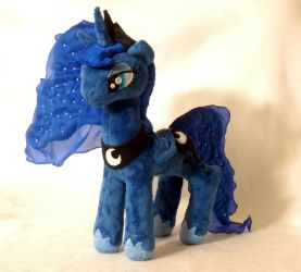 My Little Pony Princess Luna Plushie by WhiteHeather