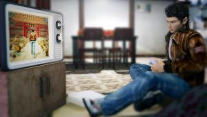 Ryo Hazuky playing Shenmue II by Esppiral
