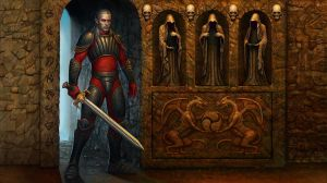 Blood Omen: Legacy of Kain  Inventory screen by adam-brown