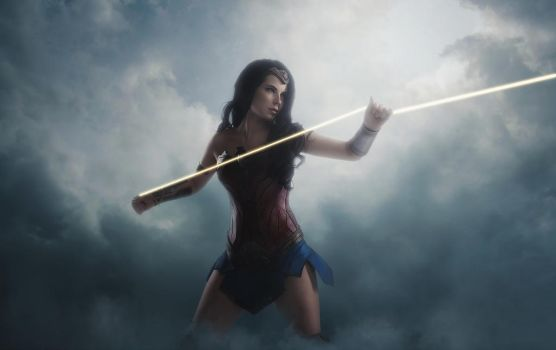 Wonder Woman - I can save you by Anastasya01