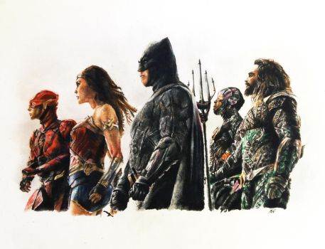 Justice League by MattWArt