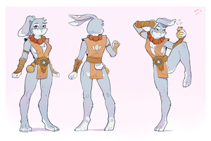 Rabbit Monk by kola411