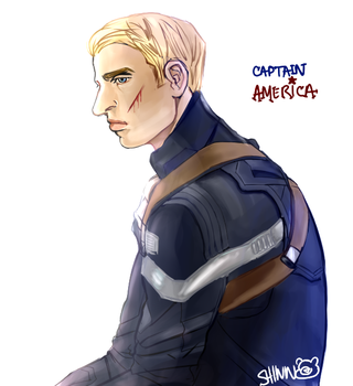 Captain America by Blessed-Doctor