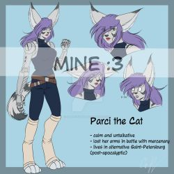 Parci reference sheet by Jean-Optimal