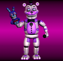 Stylised Funtime Freddy by yoshipower879