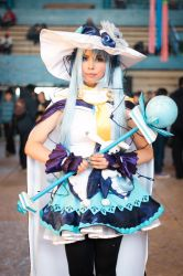 Hatsune Miku: Magical Snow 2014 Cosplay by cacoxima
