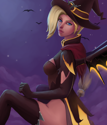 Witch Mercy by Ellise93