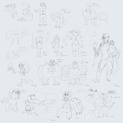 Art Stream #5 Sketch Collection by baratus93
