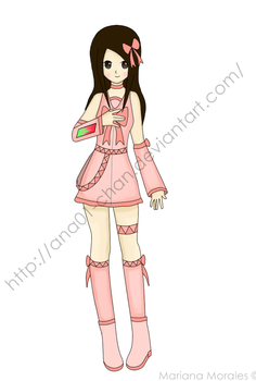 Official Ver1 Mariana Morales by ana01-chan