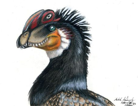 Dilophosaurus by That-Green-Monster